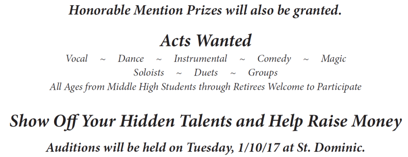 ACMP Talent Show Ad 2