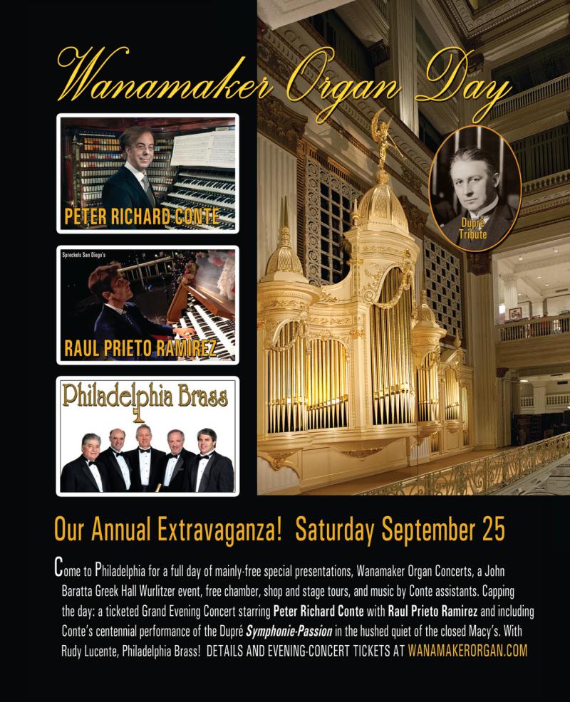 Wanamaker Organ Day
